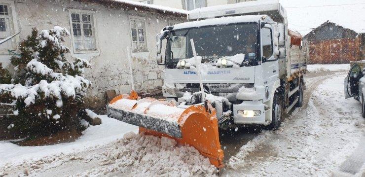 Altındağ Belediyesi kar teyakkuzunda