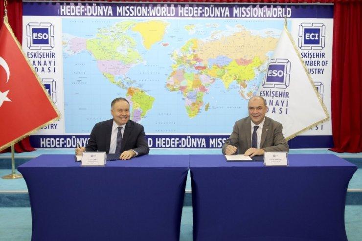 Eskişehir Sanayi Odası ve Halkbank arasında protokol imzalandı