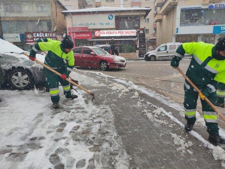 Keçiören Belediyesi 2021'in ilk karı için teyakkuzda