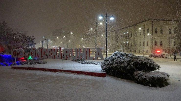 Sivas'ta kar sevinci