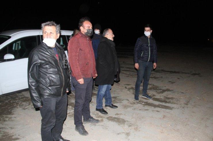 Beyşehir Gölü Milli Parkı'ndaki sazlıklar alev alev