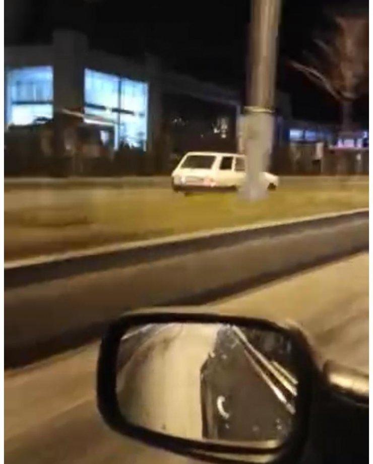Çankırı'da ters yönden giden sürücülere ceza yağdı