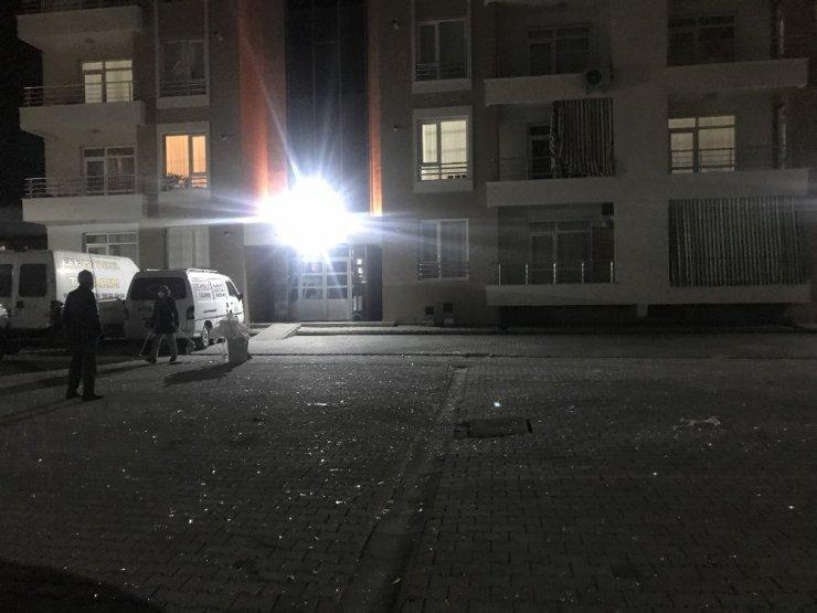 Konya'da sahte içki üretilen evde patlama: 1 yaralı