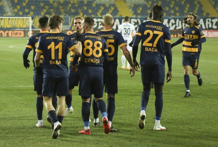 Süper Lig: MKE Ankaragücü: 1 - Kasımpaşa: 0 (Maç sonucu)