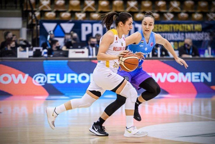 Euro Cup Women Basketbol: KSC Szekszard: 88 - Bellona Kayseri Basketbol: 71