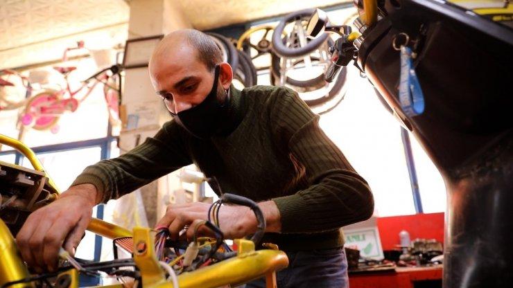 İŞKUR'un projesi ile engelliler kendi işini kuruyor