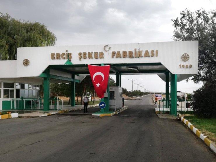 32 yıllık Türkşeker Erciş Şeker Fabrikası'nda üretim yüzde 91 arttı