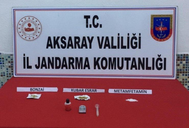 Aksaray'da uyuşturucu operasyonu: 9 gözaltı
