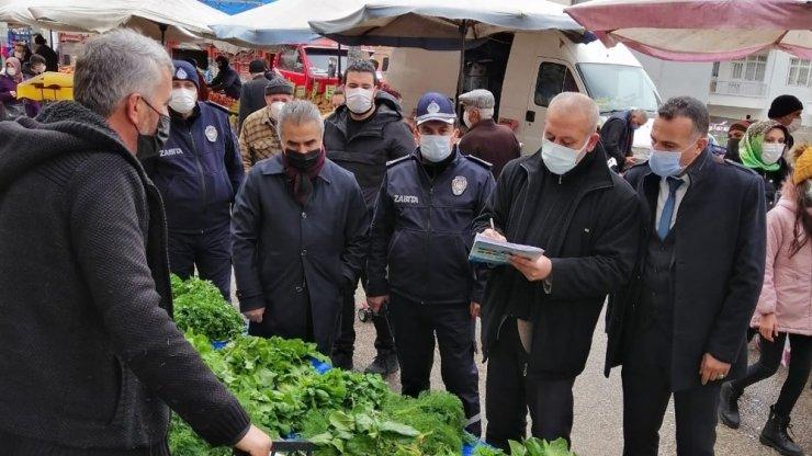 """Kırıkkale'de """"fahiş fiyat"""" denetimi"""