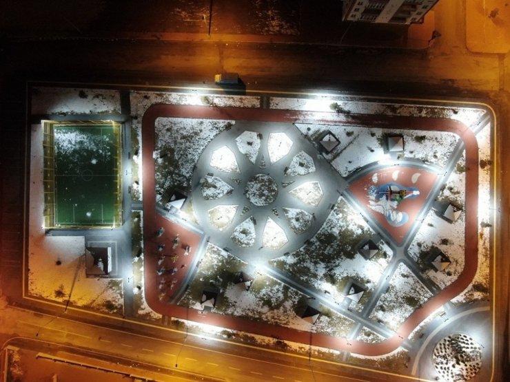 Kocasinan Beldeiyesi'nden LED teknolojisiyle 1 yılda 2,5 milyon TL tasarruf