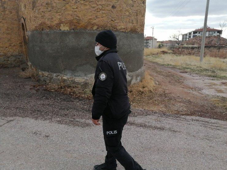 Aksaray'da polis eski cezaevinde kuş uçurtmuyor