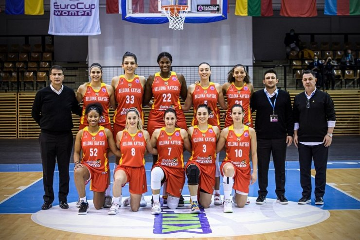 EuroCup Women son 16 ve çeyrek final maçları Kayseri'de oynanacak