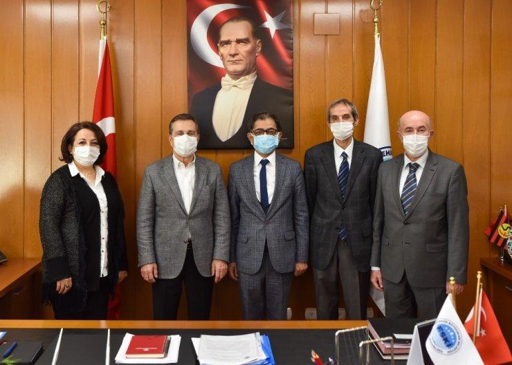 Başkan Ataç'tan Özen'e hayırlı olsun ziyareti