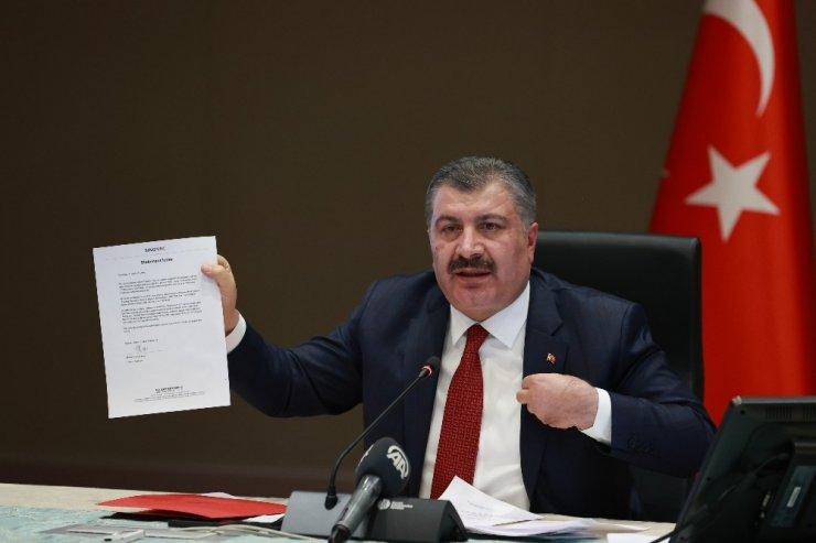 Sağlık Bakanı Fahrettin Koca'dan CHP'nin aşı iddialarına sert tepki