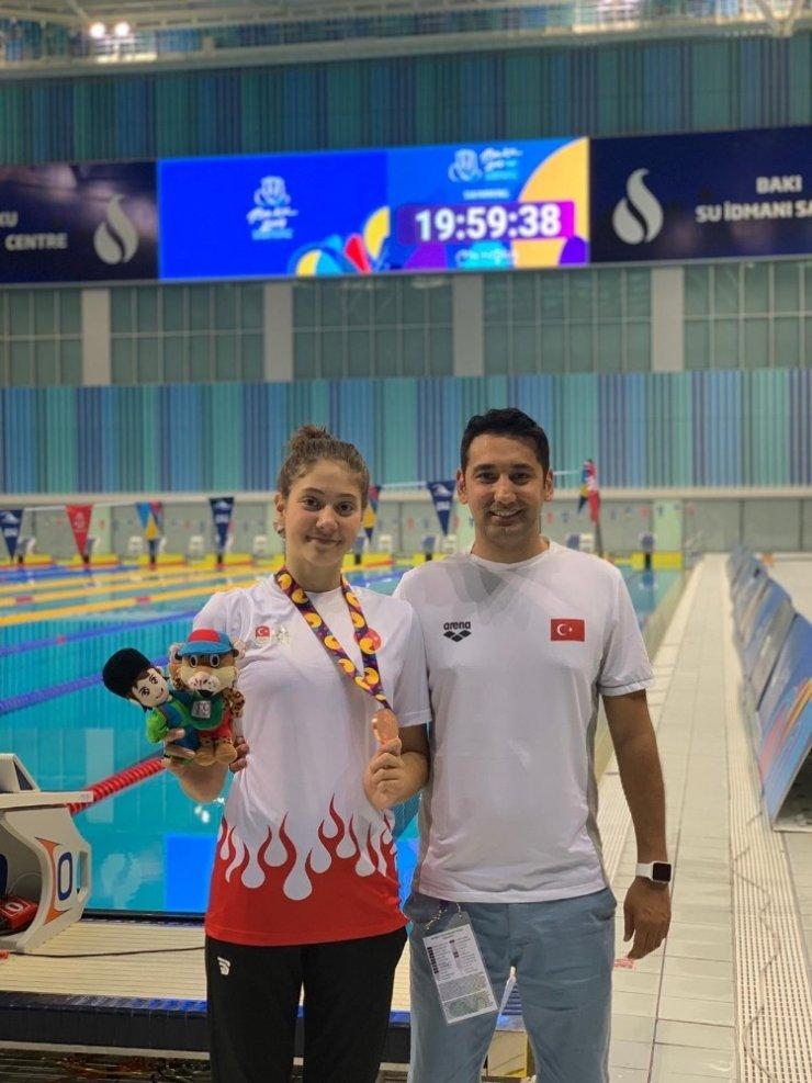 Eskişehirli yüzücü Sudem'den yeni başarılar