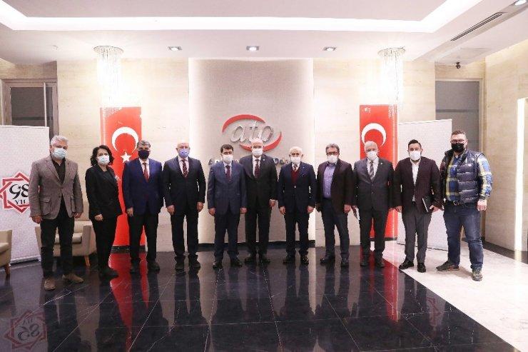 """ATO Başkanı Gürsel Baran'dan Ankara Valisi Vahip Şahin'e: """"Tedbirlerimizle, heyecanımızla 1 Mart'a hazırız"""""""
