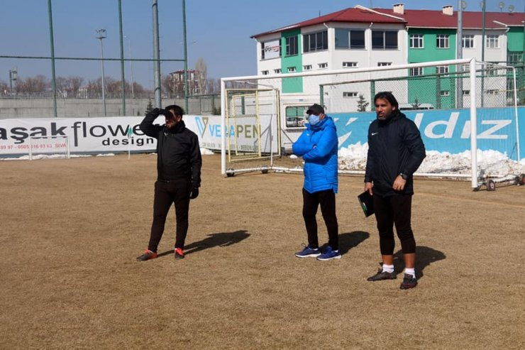 Sivas Belediyespor, Sakarya maçı hazırlıklarına başladı