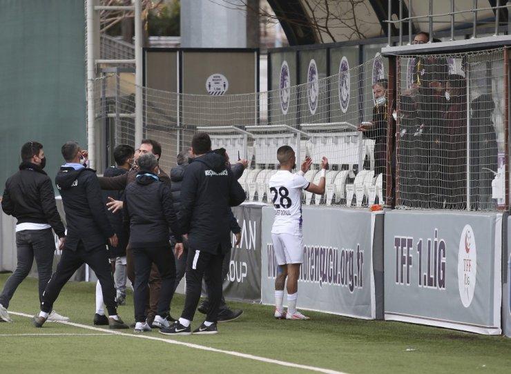 Ankara Keçiörengücü - Samsunspor maçı sonrası gerginlik!