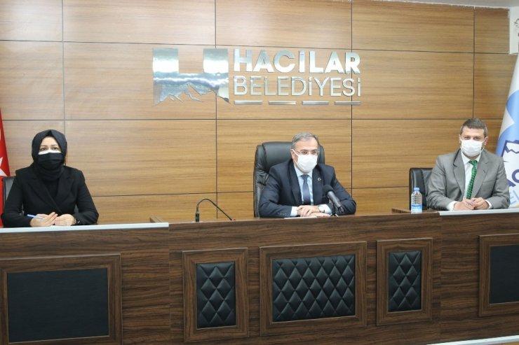 Hacılar Belediyesi Mart ayı meclisi yapıldı