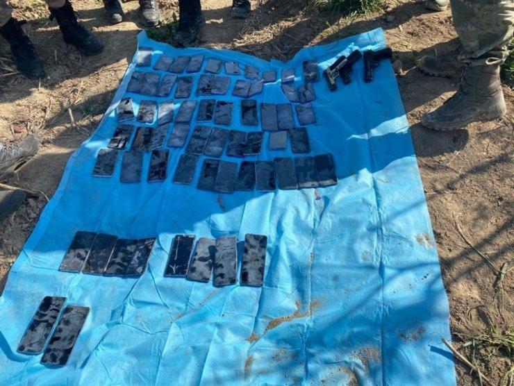 Hudut kartalları kaçakçılara geçit vermedi