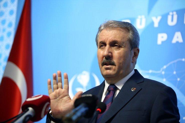 """BBP Genel Başkanı Destici: """"Türkiye'yi bu darbe anayasasından birlikte kurtaralım"""""""