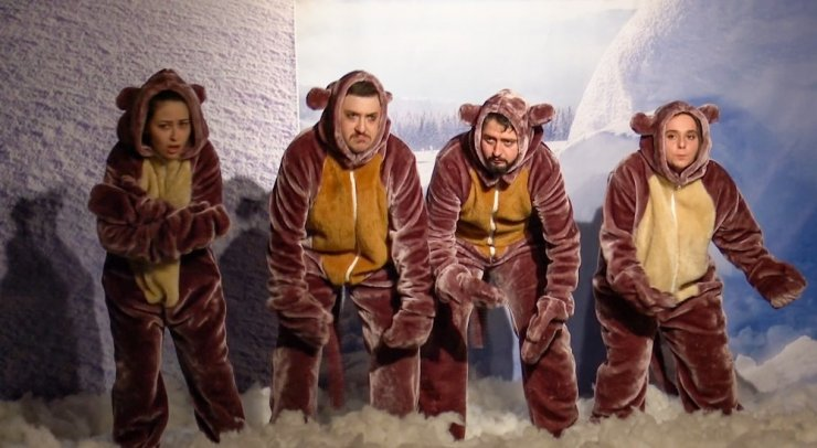 Talas'ta küresel ısınma tiyatroyla anlatıldı