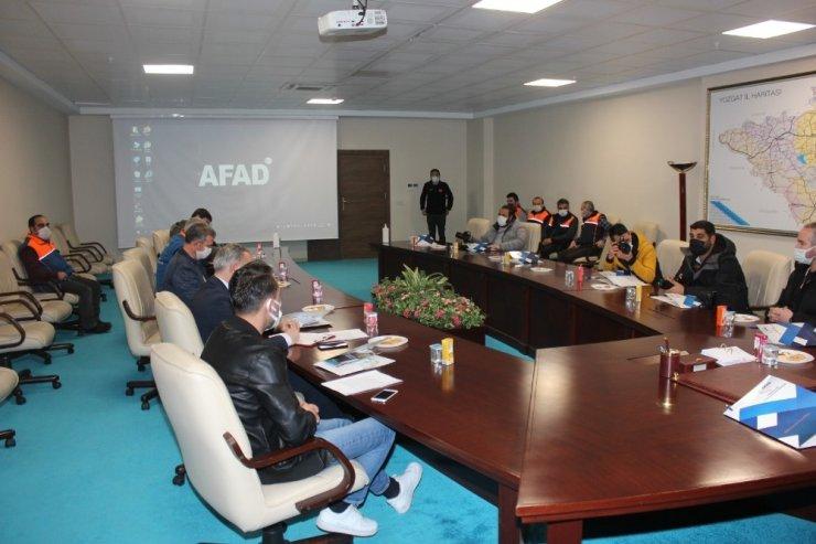Yozgat'ta AFAD 300 bin kişiye farkındalık eğitimi verecek