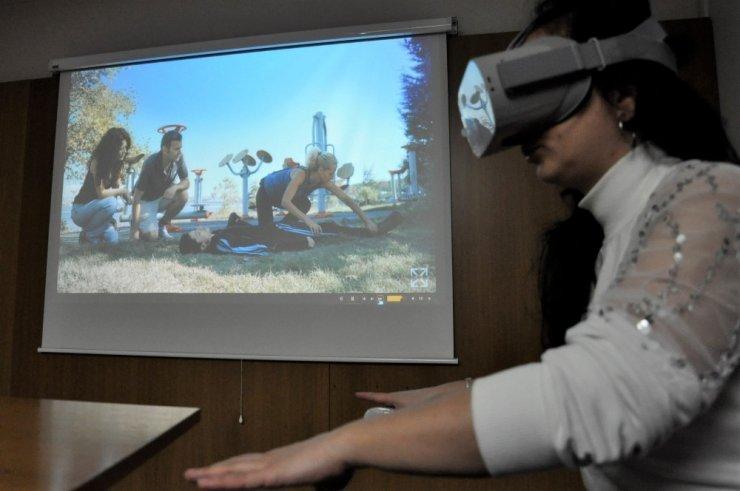 VR yazılımlar ile pandemi sürecinde uygulamalı ders imkânı sağlanıyor