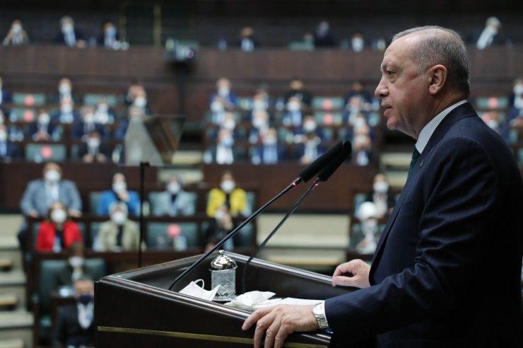 """Cumhurbaşkanı Erdoğan: """"İsteseniz de istemeseniz de Kanal İstanbul'u yapacağız ve milletimizin emrine amade edeceğiz"""""""