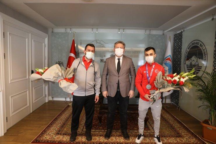Avrupa ikincisi milli halterci Melikgazi'de
