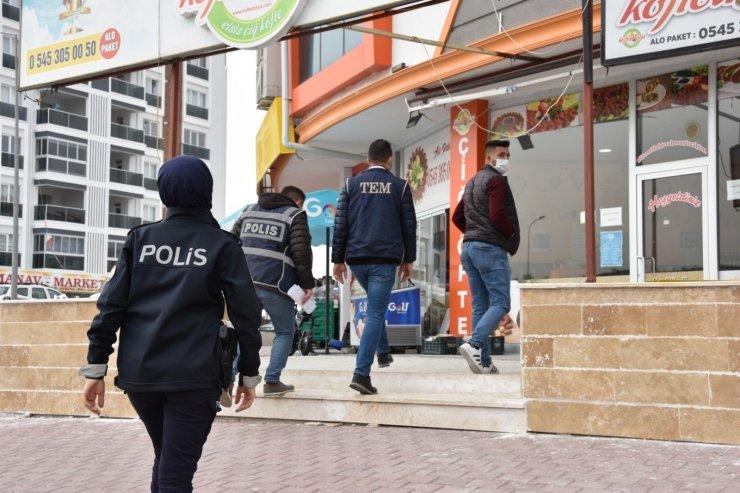 Nevşehir'de koronavirüs denetimleri devam ediyor
