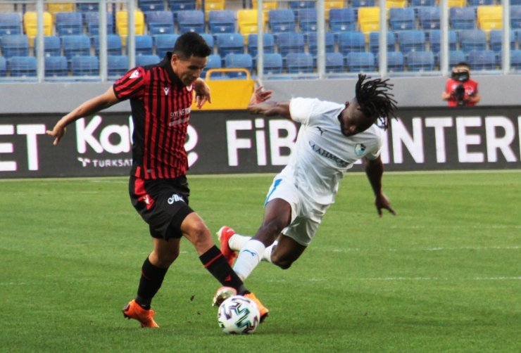 Süper Lig: Gençlerbirliği: 1 - BB Erzurumspor: 0 (İlk yarı)