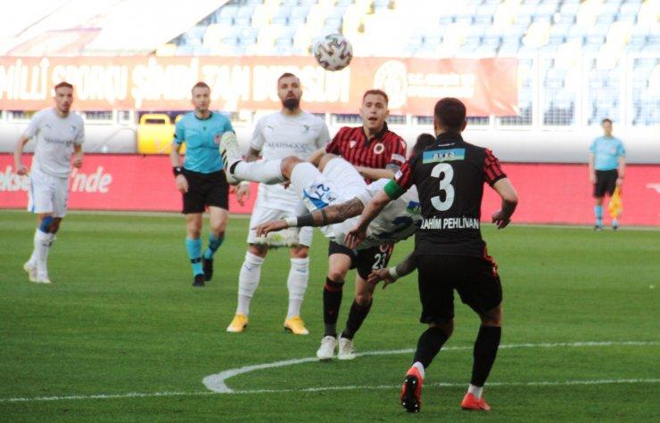 Süper Lig: Gençlerbirliği: 1 - BB Erzurumspor: 1 (Maç sonucu)