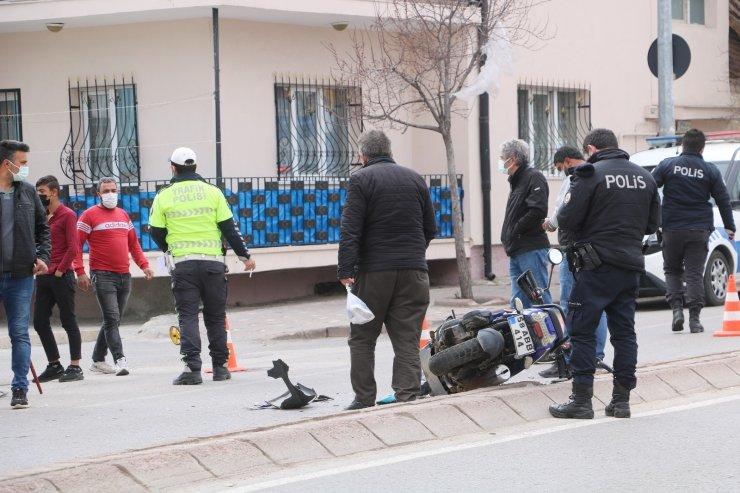 Sivas'ta trafik kazası: 1 yaralı