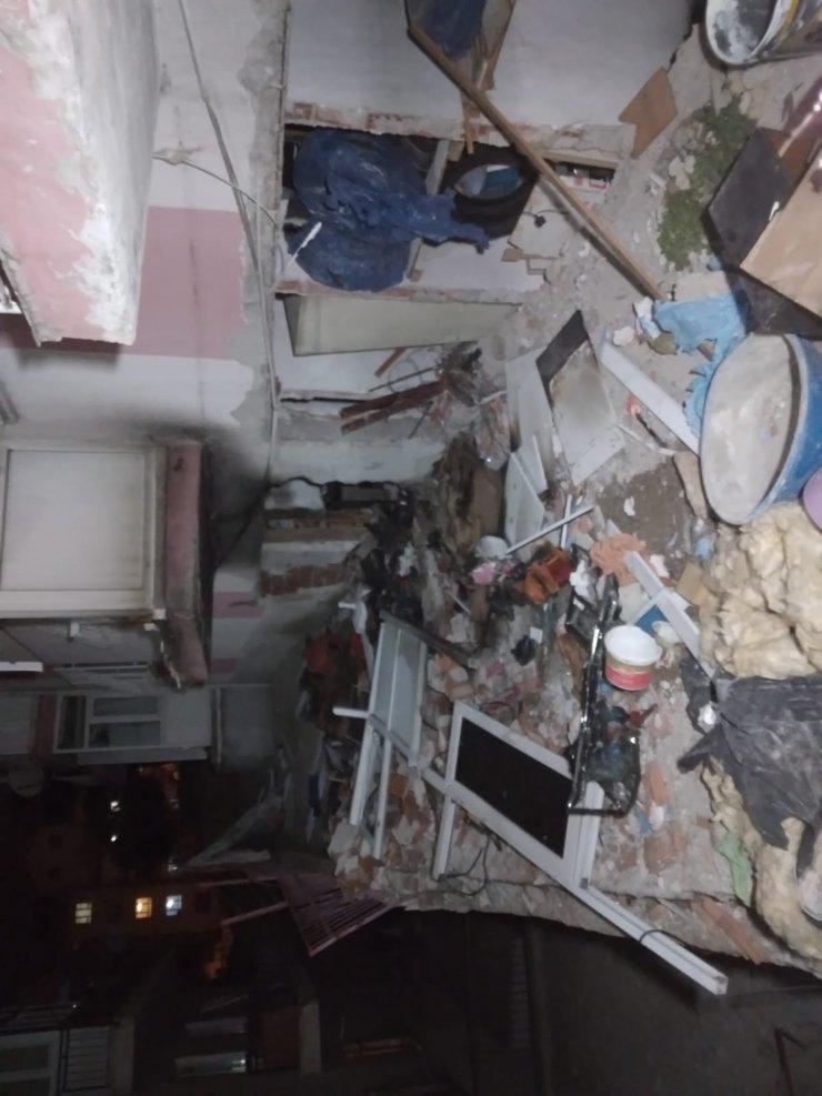 Keçiören'de bir binanın bodrum katında patlama: 1'i ağır 2 yaralı