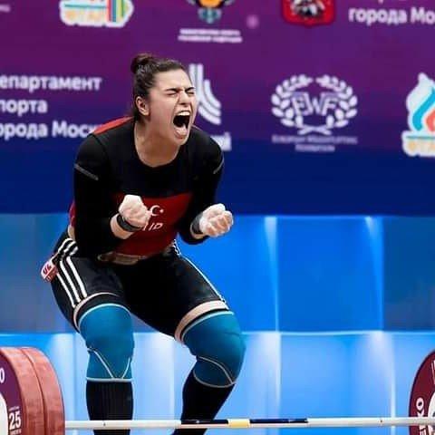 'Dişi Herkül' Avrupa 5.'si oldu, hedef dünya şampiyonası ve olimpiyatlar