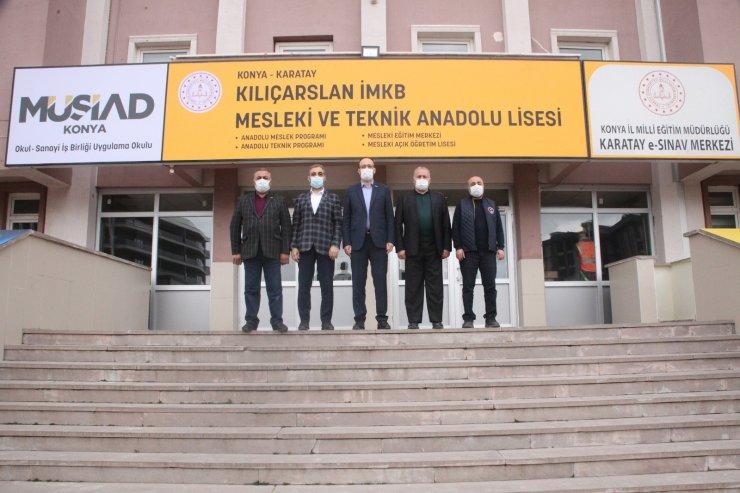 """Konya'da """"İş Başı Eğitim Projesi"""" başladı"""