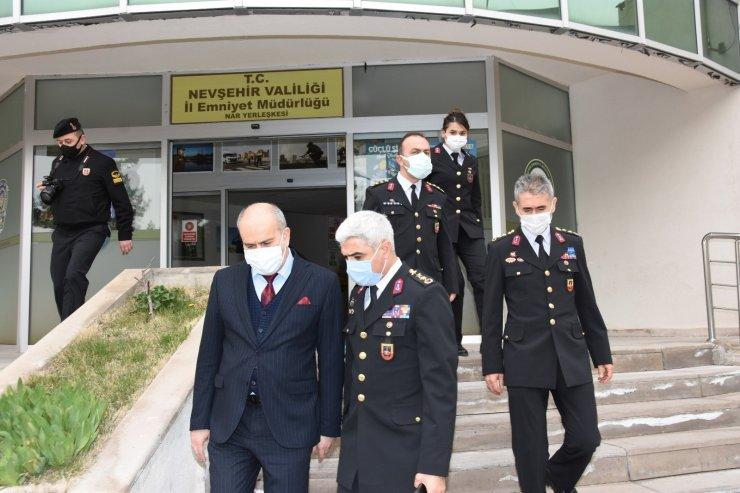 Nevşehir'de polis ve jandarma çalışıyor, asayiş azalıyor
