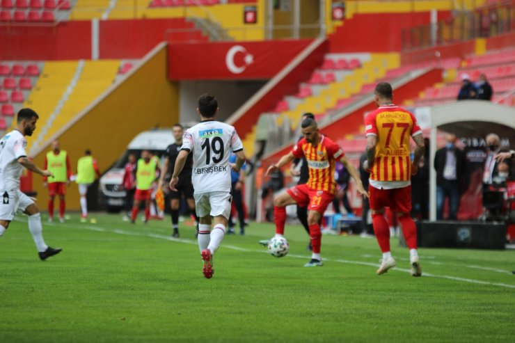 Süper Lig: Hes Kablo Kayserispor: 2 - Gençlerbirliği SK: 2 (Maç sonucu)