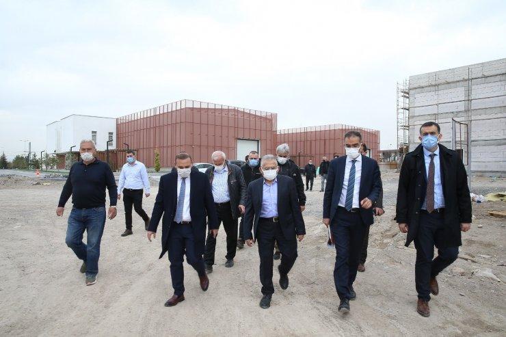 Büyükşehir'in prestijli projeleri yükseliyor