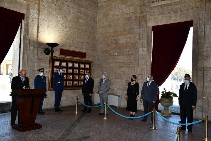 TSYD Ankara Şubesi'nden Anıtkabir ziyareti