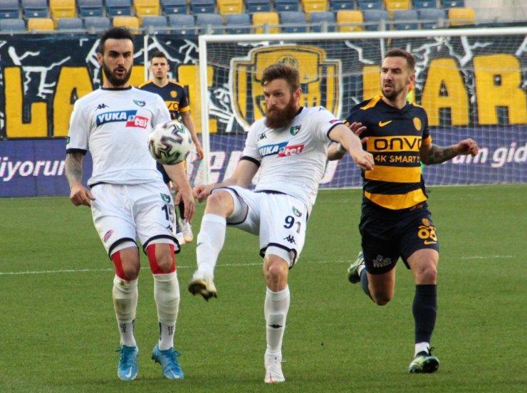 Süper Lig: MKE Ankaragücü: 1 - Denizlispor: 1 (Maç sonucu)