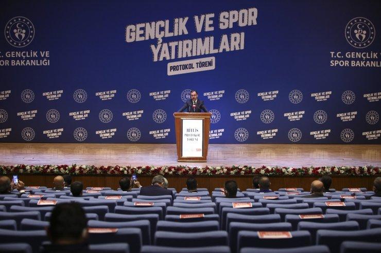 Gençlik ve Spor Bakanlığı'ndan Bitlis'e yatırım