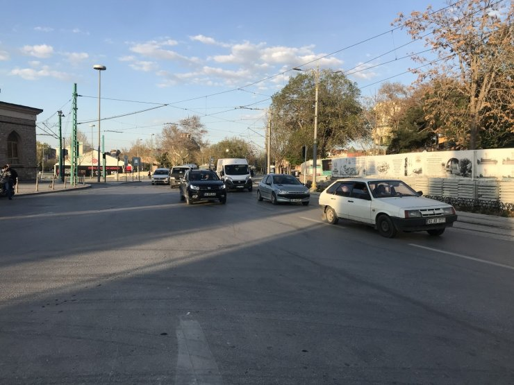 Konya'da 82 saatlik kısıtlama başladı