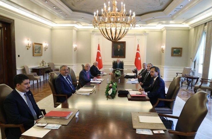 Yüksek İstişare Kurulu, Cumhurbaşkanı Recep Tayyip Erdoğan başkanlığında Çankaya Köşkü'nde toplandı