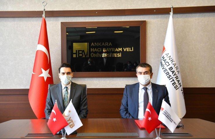 YTB ve Hacı Bayram Veli Üniversitesi'nden Alevi-Bektaşi kültürüne yönelik iş birliği