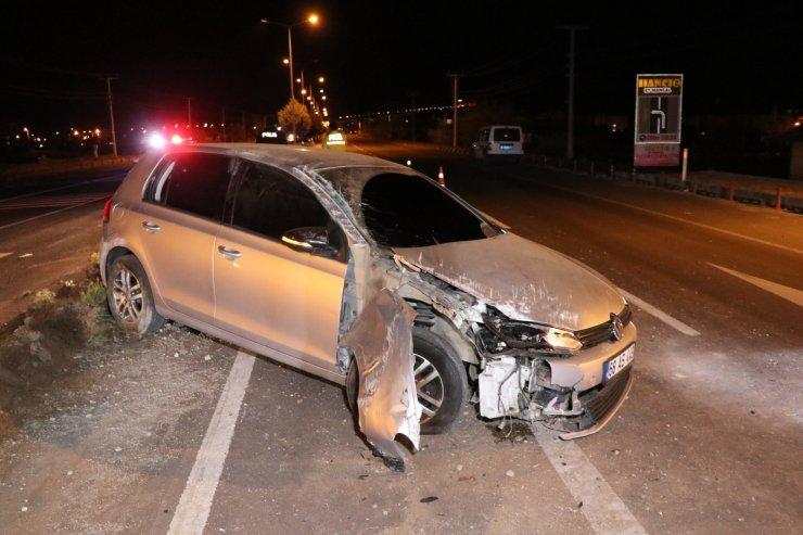 """""""Durmayı sevmiyorum"""" demişti, aşırı hızla kaza yaparak yaralandı"""