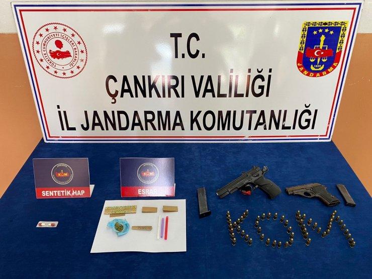Çankırı'da uyuşturucu ve kaçakçılık operasyonu: 7 gözaltı