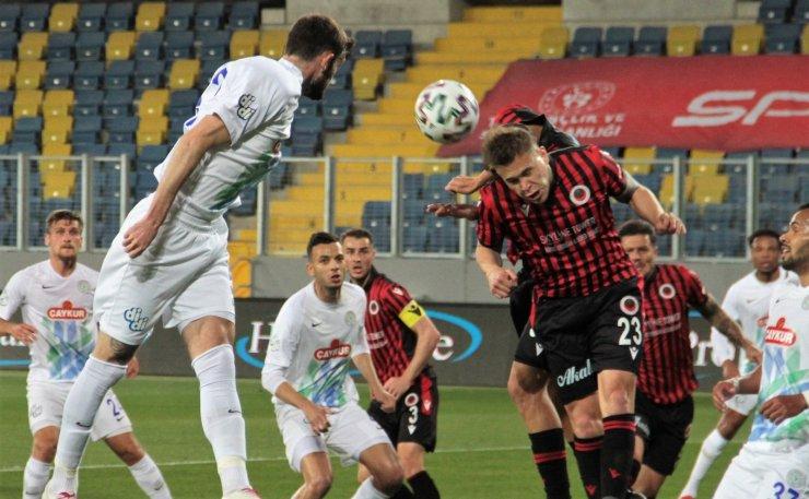 Süper Lig: Gençlerbirliği: 1 - Ç. Rizespor: 0 (İlk yarı)