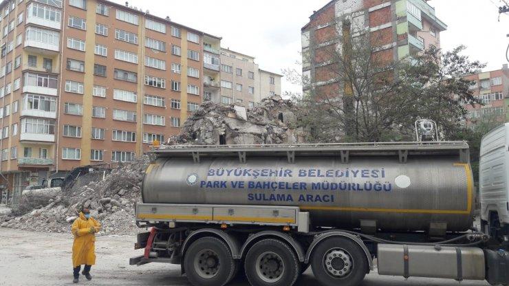 Vatandaşın yoğun tepkisine neden olan bina yıkımında sorun çözüldü